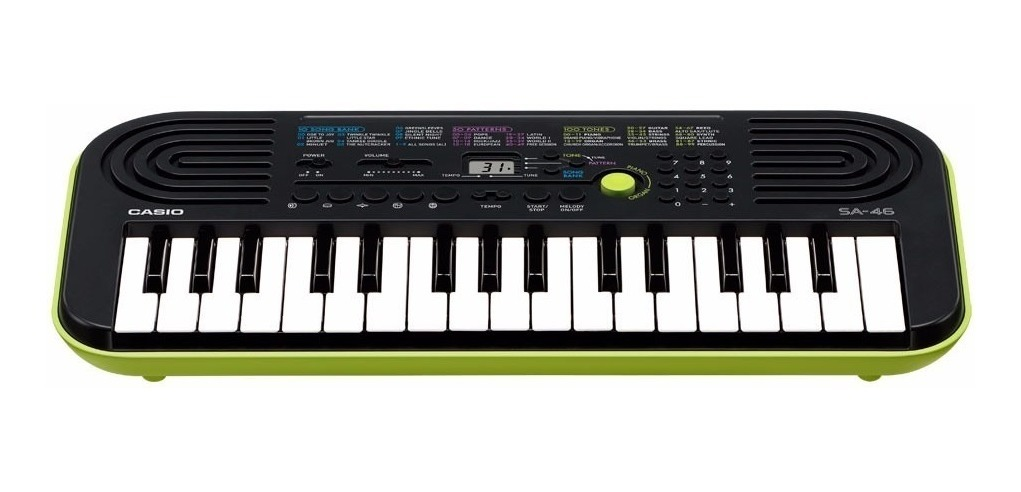 Teclado Musical Infantil Digital SA-46AH2 Casio